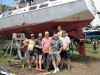 Команда Югры готовит яхту к походу