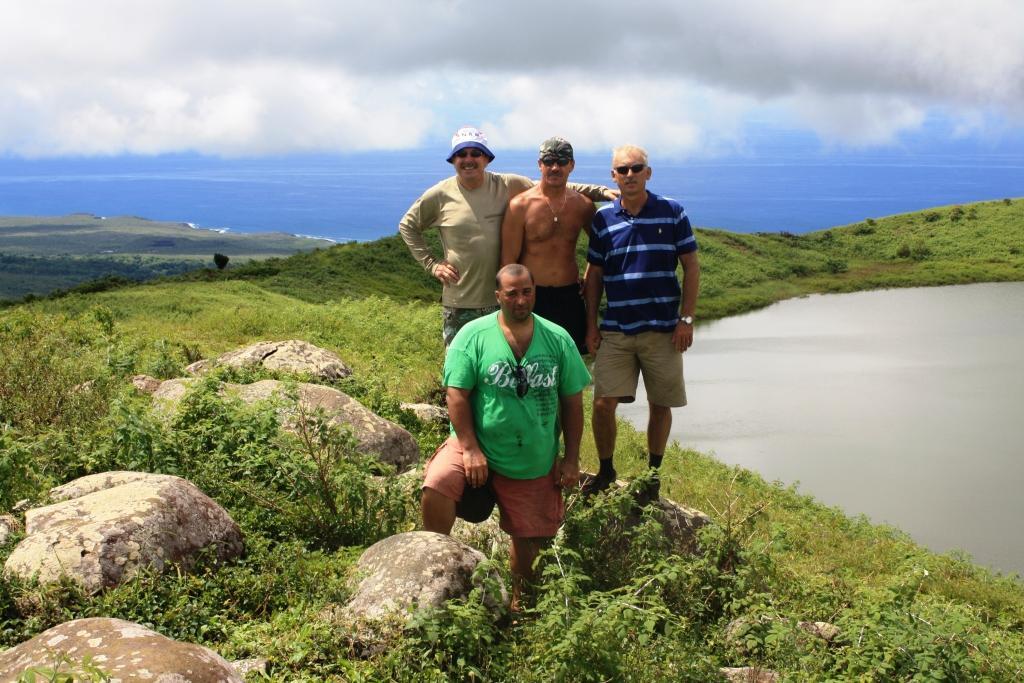 Рейд Рек Бей на Сан Кристобале Галапагосские острова