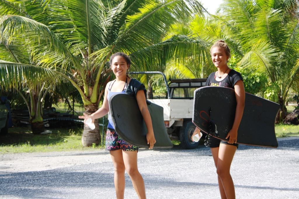 Полинезийские девушки