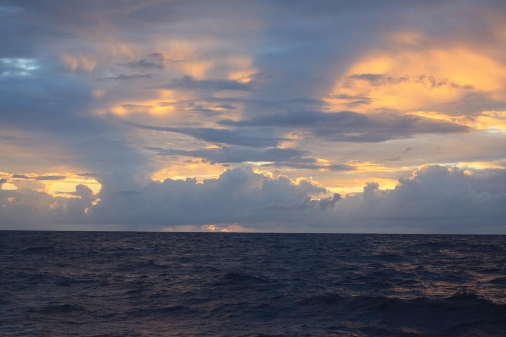 Утро в океане