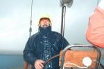 Первый выход яхты Югра в августе 2006 на р. Объ